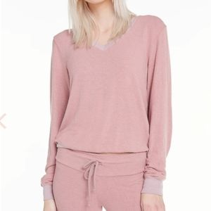 NEW Wildfox Sweater Sweatshirt Pink Soft P…